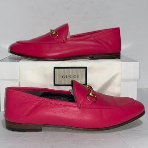 Gucci Brixton Convertible Loafers Fuschia Flou